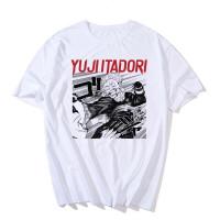 Tee-Shirt Jujutsu Kaisen : Yuji Combattant