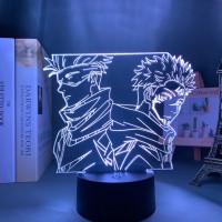 Lampe Jujutsu Kaisen : Satoru & Sukuna