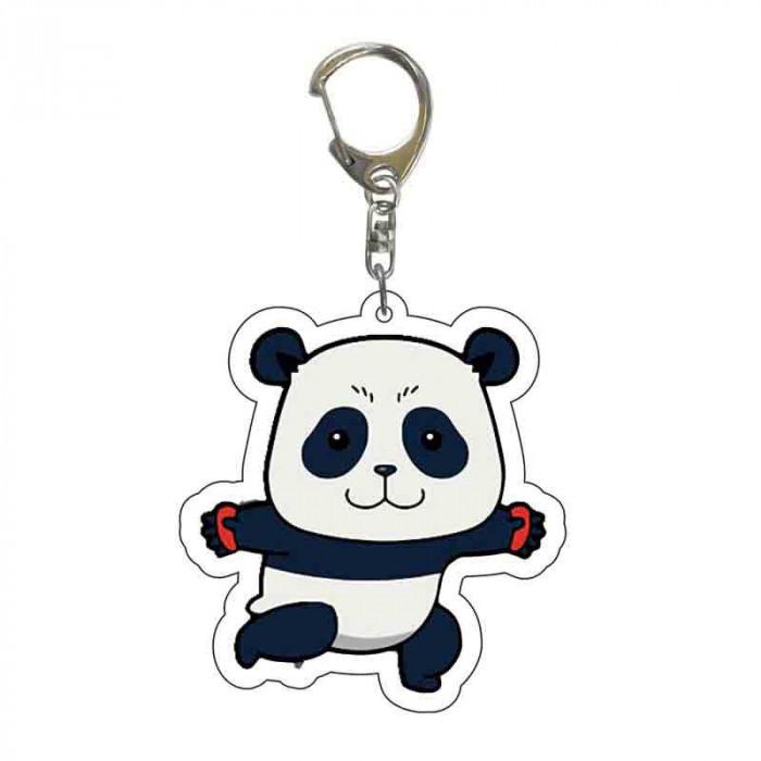 Porte-clé Jujutsu Kaisen : Panda Debout