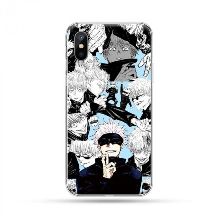 Coque iPhone Jujutsu Kaisen : Satoru Manga
