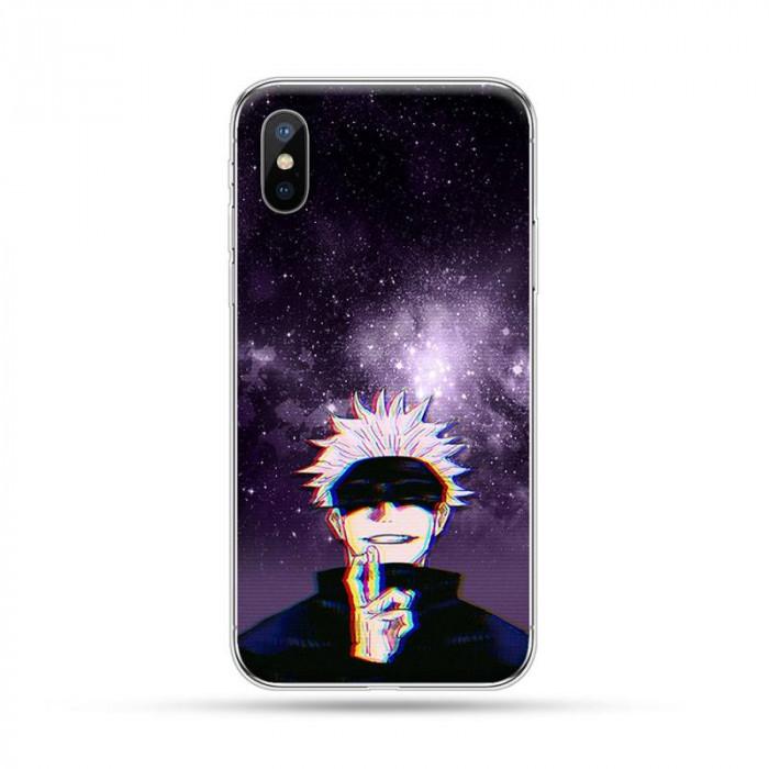 Coque iPhone Jujutsu Kaisen : Satoru Nuit