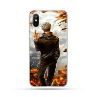 Coque iPhone Jujutsu Kaisen : Satoru Extension du Territoire