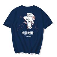 T-Shirt Jujutsu Kaisen Bleu : Sukuna Ryomen